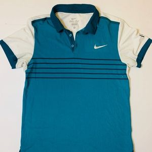 Nike 2015 US Open Roger Federer Polo Size M